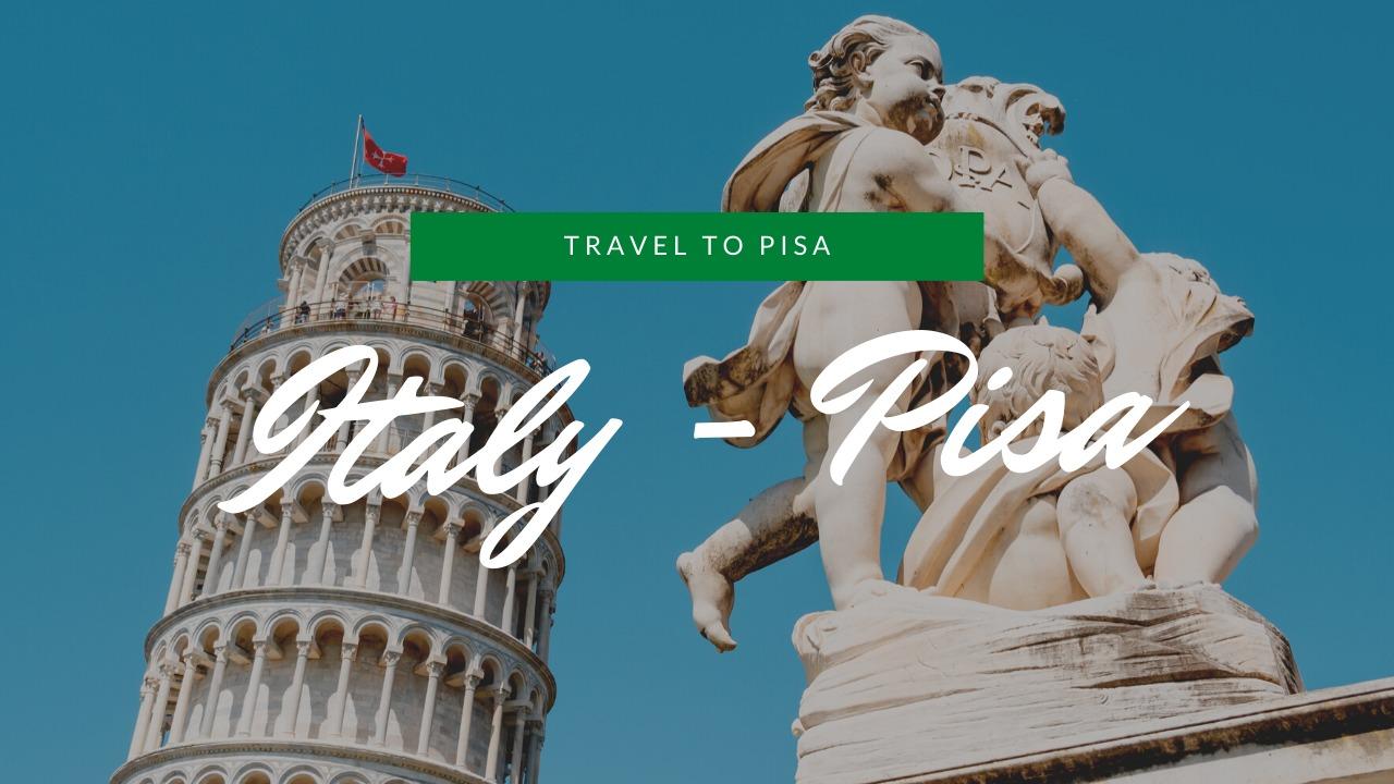 イタリア|4時間半でピサを観光!ピサの斜塔を登る