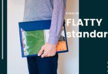 キングジム|書類・小物の持ち運びに便利なバッグインバッグ「FLATTY(フラッティ)」