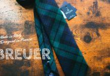 BREUER(ブリューワー)|フランスとイタリアの良いとこ取り!「タータンチェック ウールネクタイ」