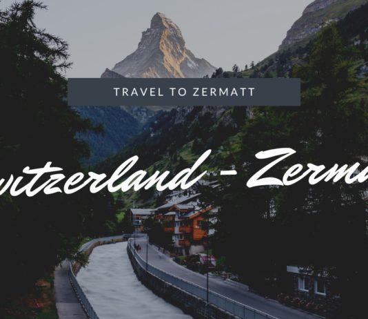 スイス マッターホルンの麓の街「ツェルマット」を観光。