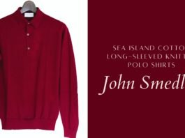 John Smedley(ジョンスメドレー)|30G長袖ニットポロ「BRADWELL」購入レビュー
