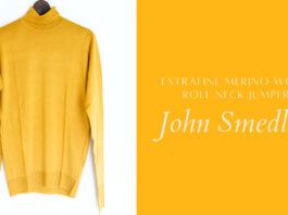 John Smedley(ジョンスメドレー)|30Gメリノウールタートルネックセーター「RICHARDS」購入レビュー