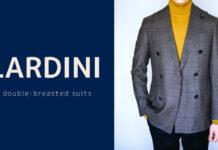 LARDINI(ラルディーニ)|6Bダブルブレステッドスーツ(グレンプレイド)購入レビュー