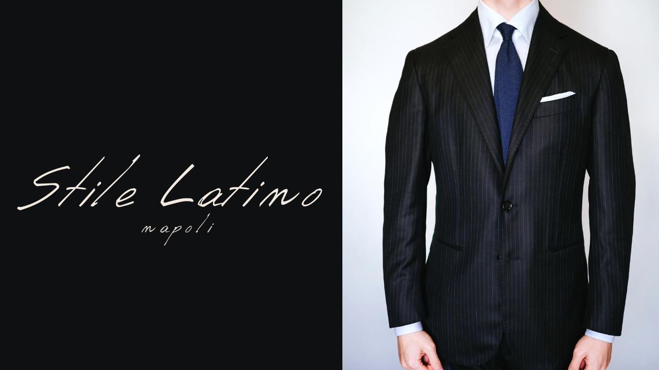 Stile Latino(スティレ ラティーノ)|ピンストライプ柄のシングルスーツを購入レビュー(サイズ感・着心地)