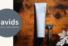 Davids(デイヴィッズ)|爽やかなミントで口臭予防。お洒落なオーガニック歯磨き粉「ホワイトニングトゥースペースト(チャコール)」レビュー