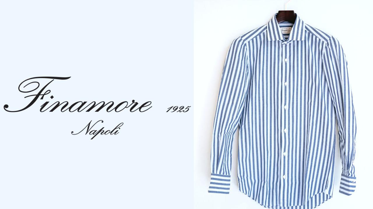 Finamore(フィナモレ)|手縫いが目立つカジュアルシャツ(ストライプ) 購入レビュー