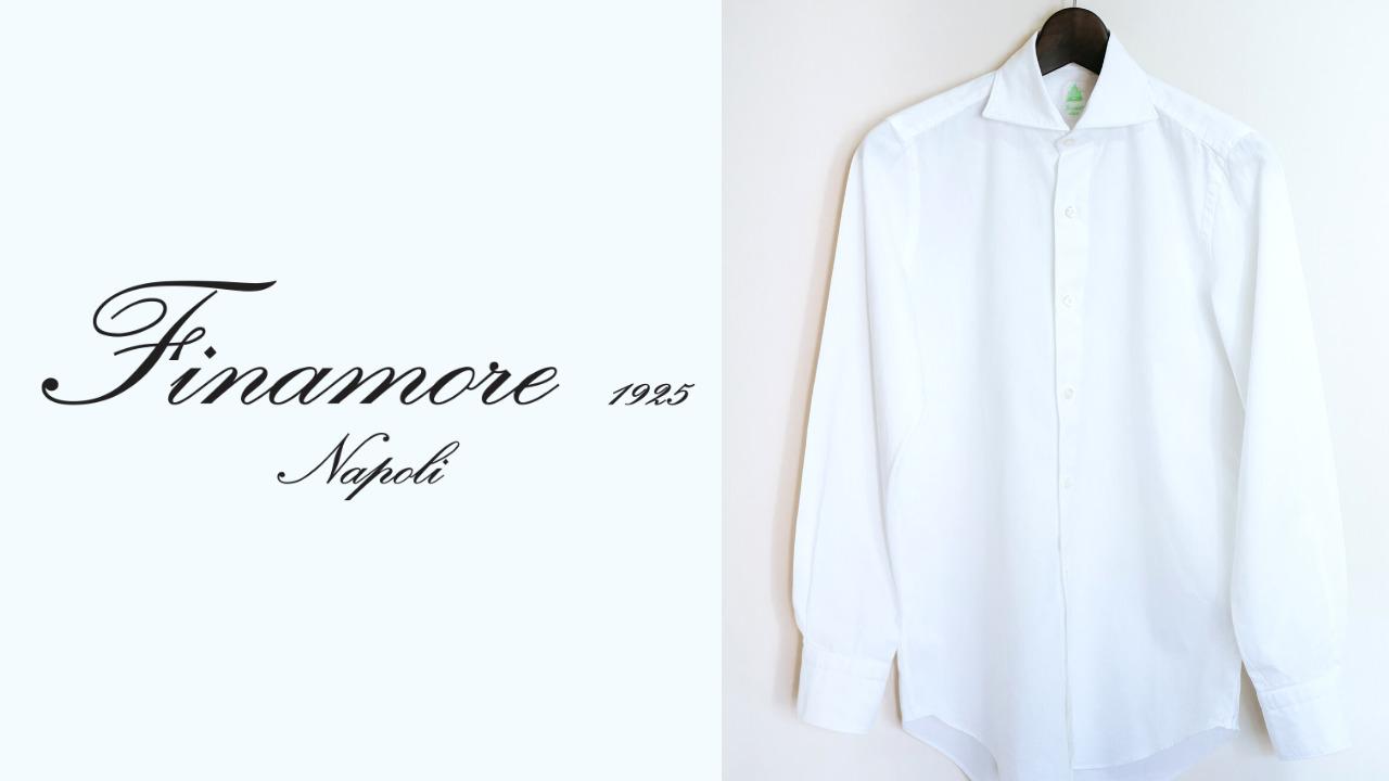 Finamore(フィナモレ)|オックスフォードシャツ「TRIESTE(トリエステ)」購入レビュー