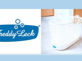 Freddy Leck(フレディ レック)|お洒落シンプルな洗濯カゴ「ランドリーバスケット スリム 」
