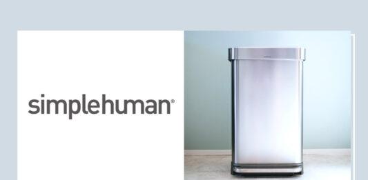simplehuman|格好良いステンレスゴミ箱「レクタンギュラー ステップダストボックス(45L )」レビュー